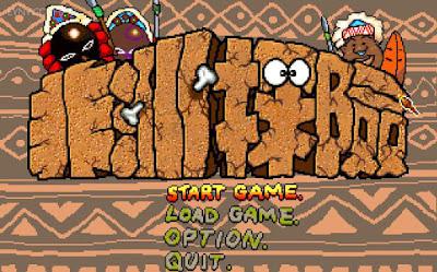 好玩的懷舊冒險類大富翁遊戲,Dos版非洲探險(Crazy Adventure in Africa)繁體中文綠色免安裝版!