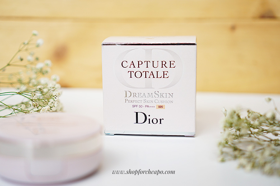 Dior Capture Total Dream Skin Perfect Skin Cushion review 020 light neutral