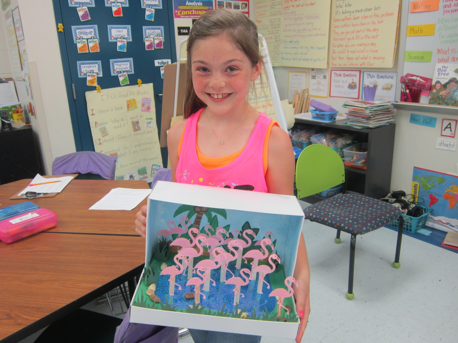 Kids Diorama With Details: Mrs. Pacciano's Post: Look At These Habitat Dioramas