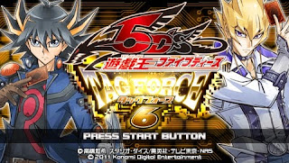 Game Yu-Gi-Oh! 5D's Tag Force 6 PPSSPP/ISO High Compressed Download