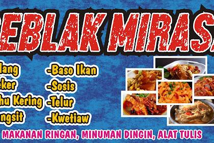 20+ Inspiration Contoh Spanduk Makanan Seblak