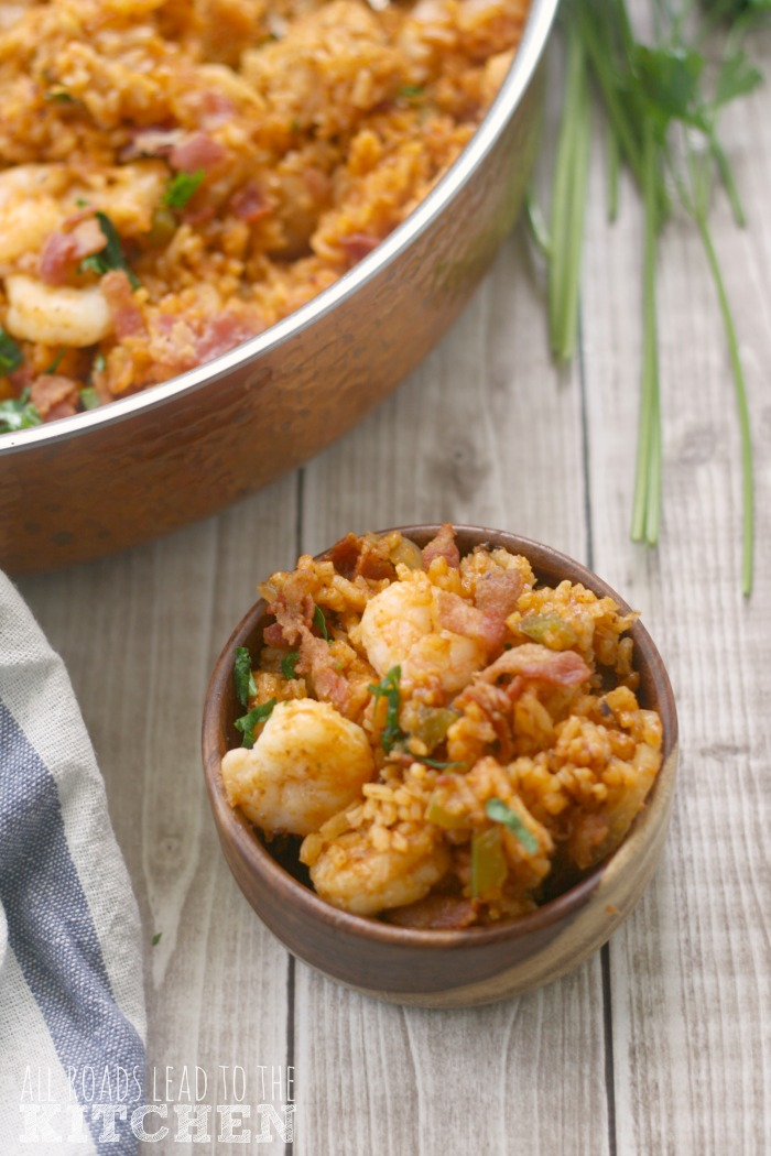 Gullah Red Rice w/ Shrimp, Bacon & Fennel