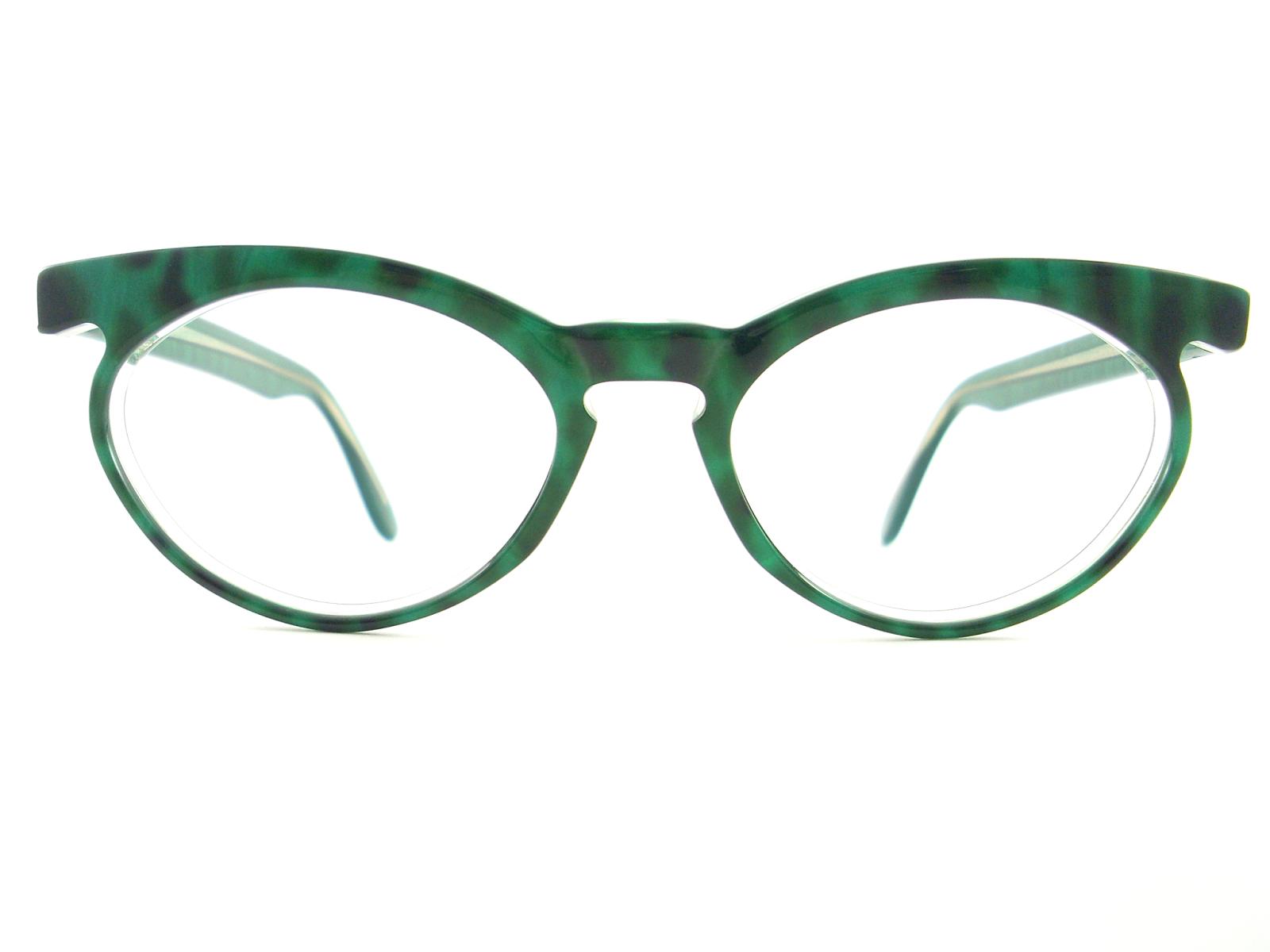 Vintage Green Glasses 93