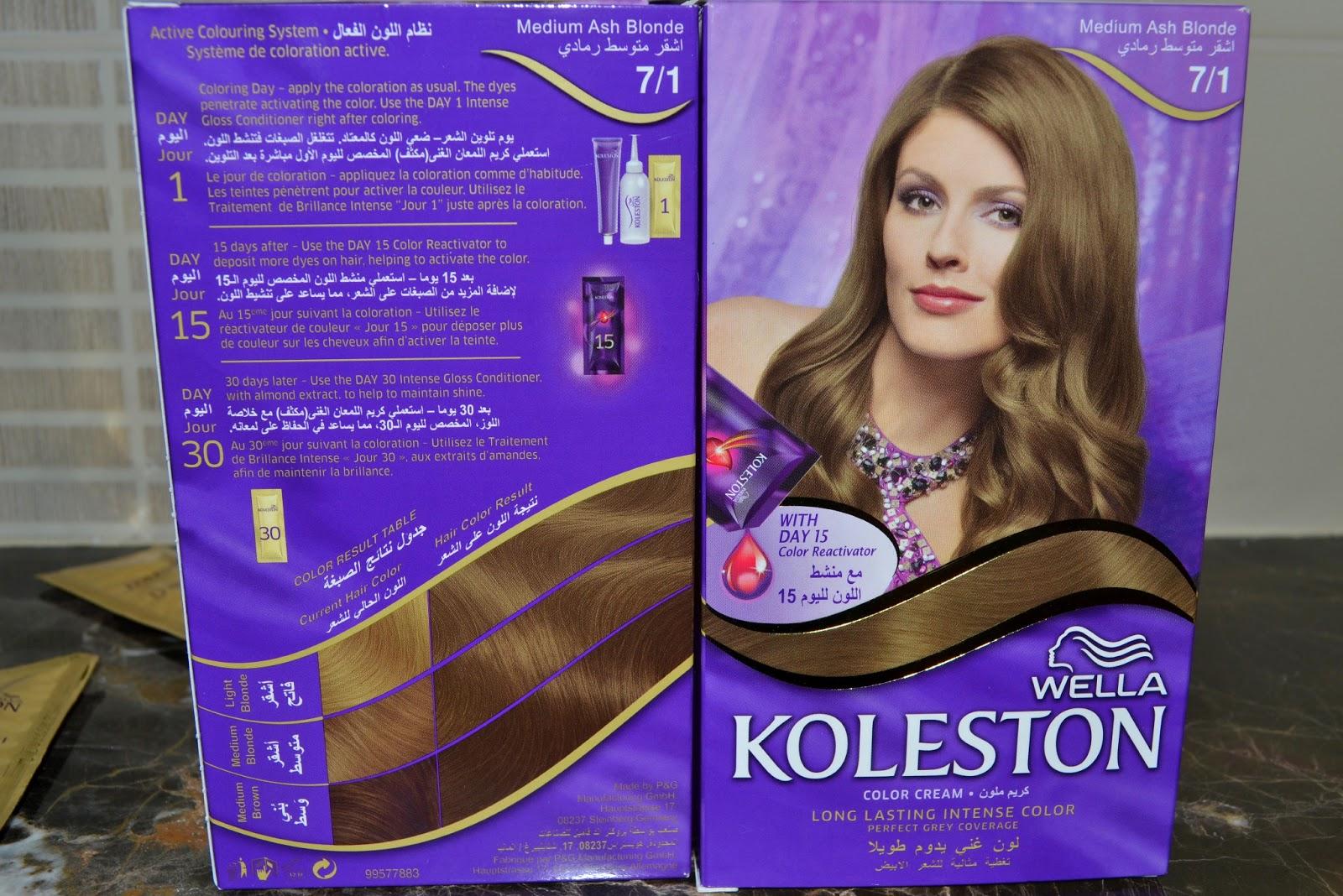 Couleur cheveux caramel koleston