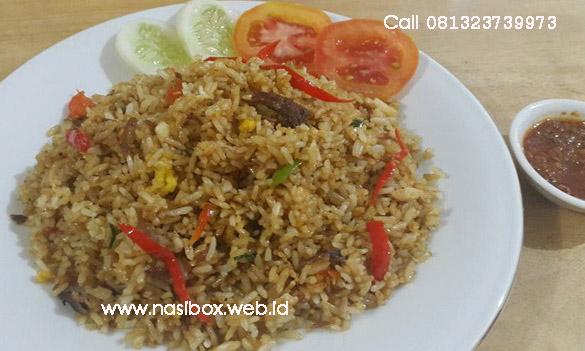 Resep nasi goreng cakalang nasi box cimanggu ciwidey