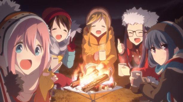 Yuru Camp△ - Daftar Anime 2018 Terbaik dan Terpopuler
