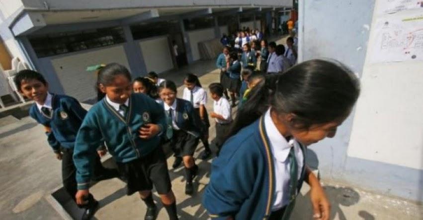 Solo 60 colegios públicos y privados cuentan con acreditación a nivel nacional