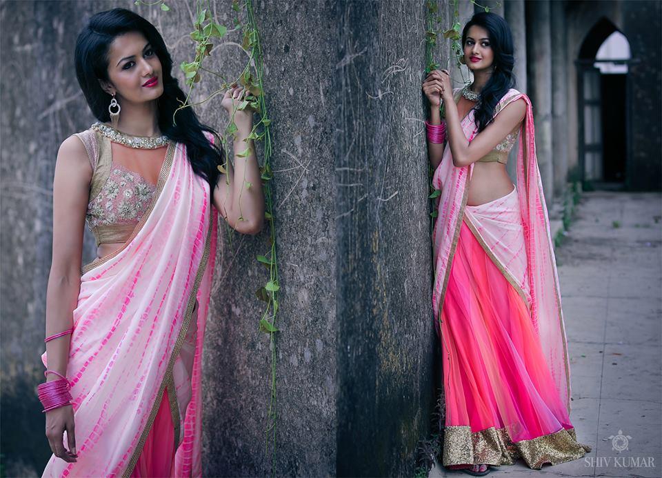 bhargavi kunam half sarees - photo #23