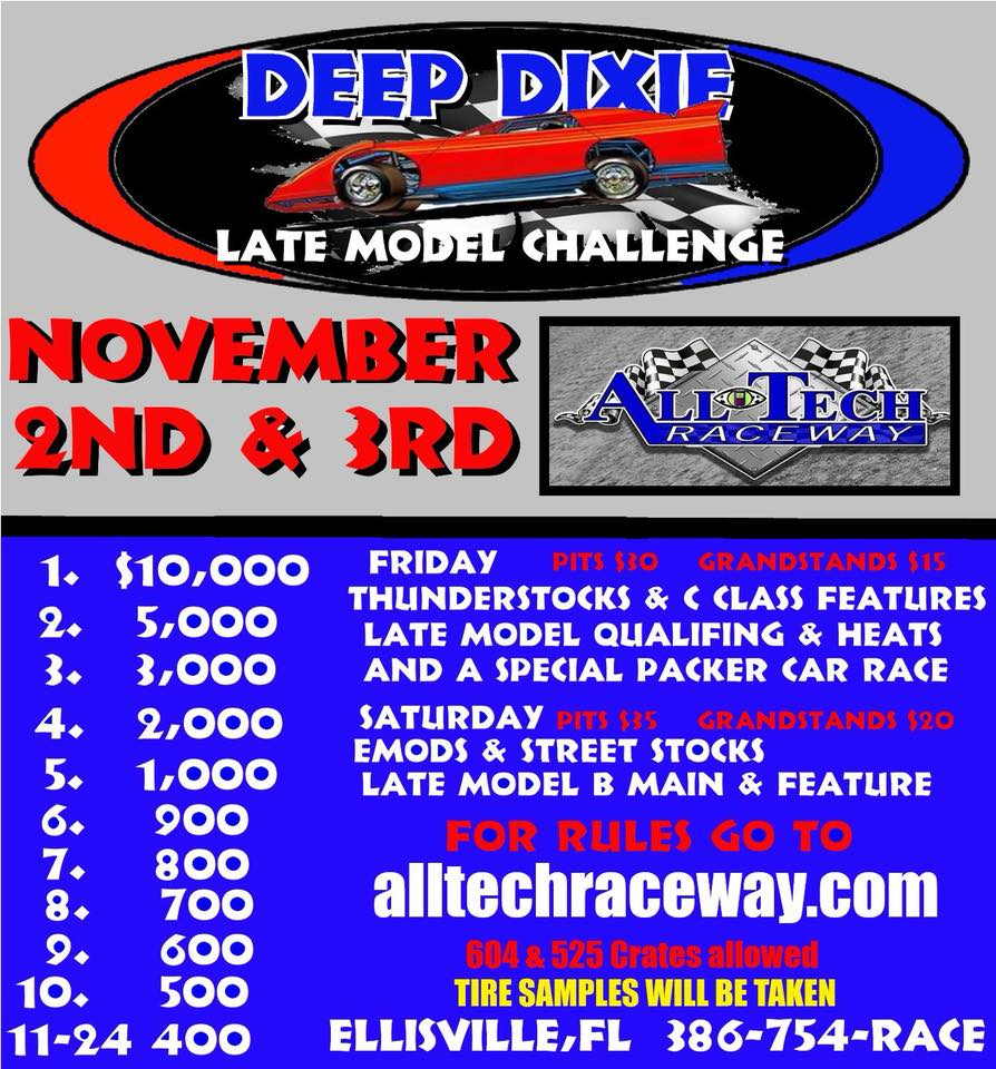 2018 Deep Dixie Late Model Challenge