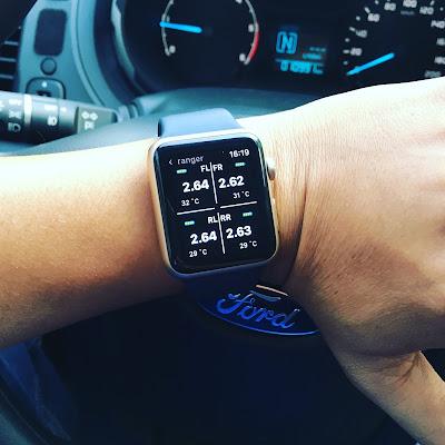 Xem áp suất lốp trên Apple Watch