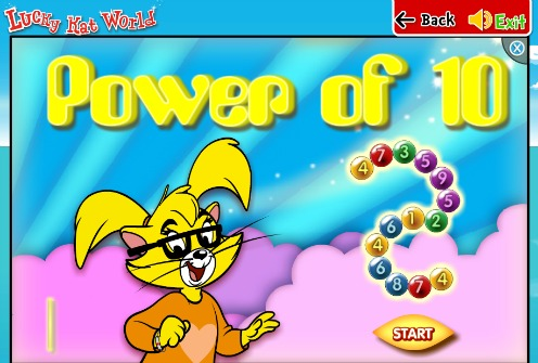 Review of Lucky Kat World online game site for kids