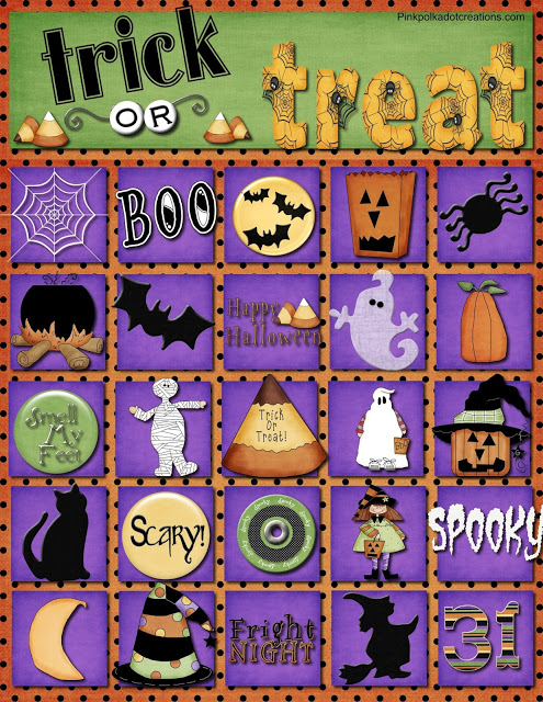 Best Printable halloween bingo cards with pictures numbers for ...