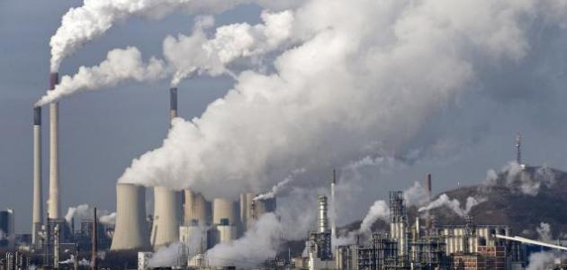 بحث عن التلوث