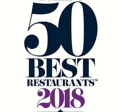 wolrd's best restaurants 2018