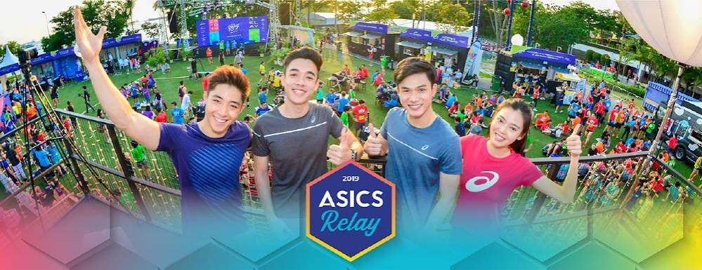 Team Asics Relay Indonesia 2019