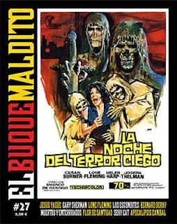 Nueva entrega del veterano fanzine El Buque Maldito, cine de terror y culto.