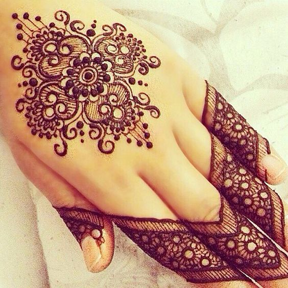 Mehndi Design With Fingers : Latest and modern henna mehndi designs for all