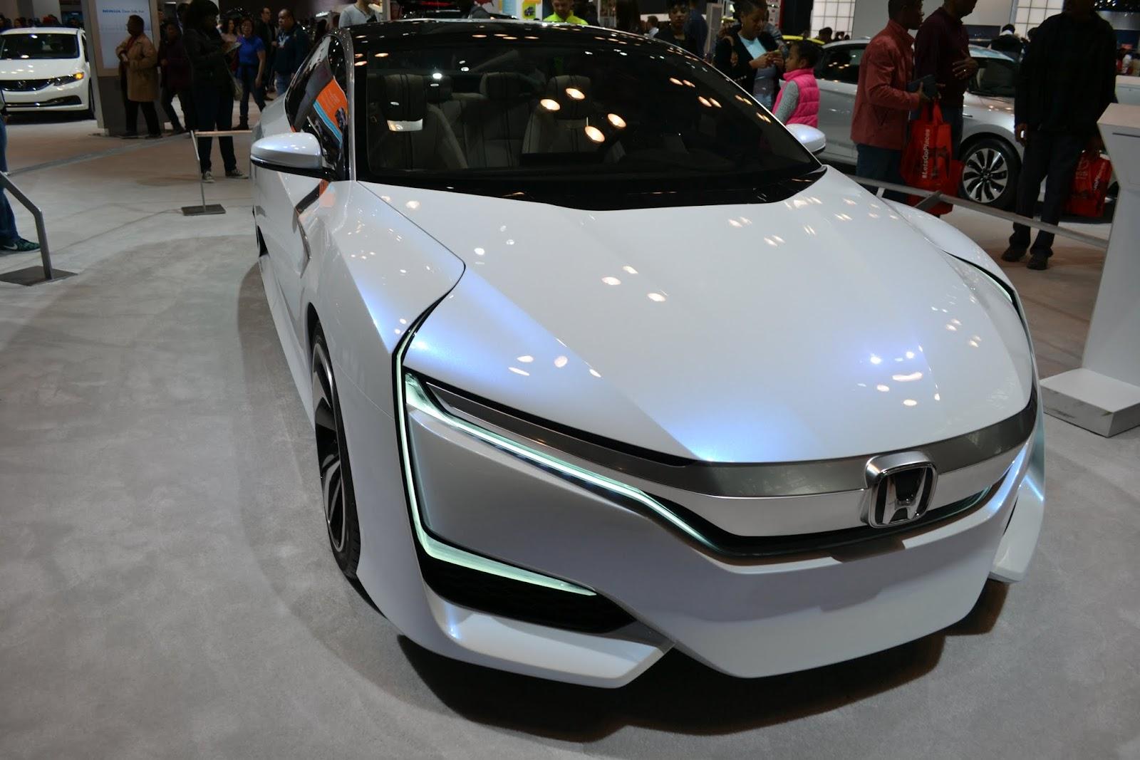 Honda FCV. Ежегодное автошоу в Нью-Йорке - 2015 (New York International Auto Show - 2015)