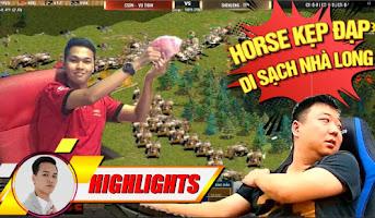 Shenlong cam bái hạ phong Chim Sẻ với bài HORSE THẦN kẹp ĐẠP ĐÔI   AoE Highighs
