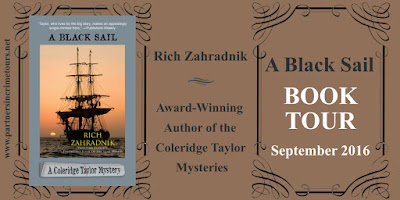 Book Showcase: A Black Sail by Rich Zahradnik