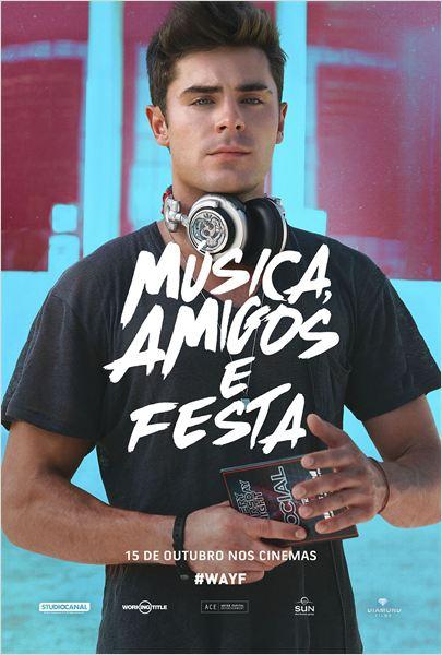 Baixar capa Música, Amigos e Festa   Dublado e Dual Audio   HDRip XviD e RMVB Download