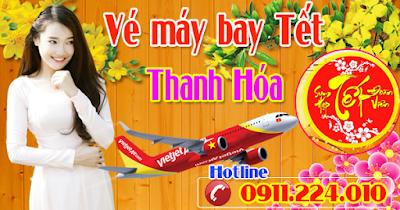 Đại lý bán vé máy bay Tết đi Thanh Hóa uy tín