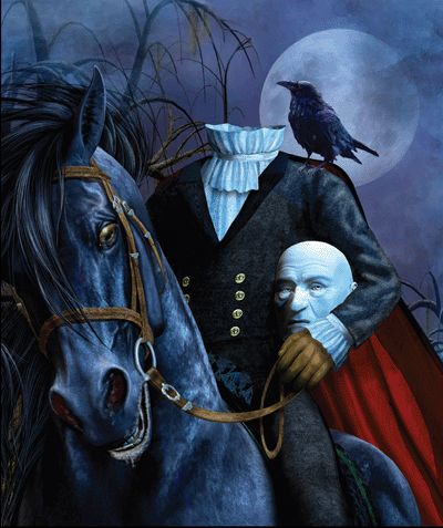 Sweethearts of the west the creepy legend of el muerto by sarah j mcneal - Pictures of the headless horseman ...