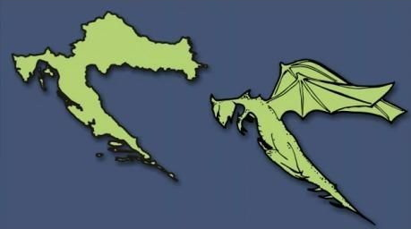 Croatia Illustration
