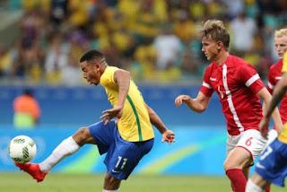 A seleção brasileira de futebol masculino está classificada para as quartas  de final dos Jogos Olímpicos Rio 2016. 8d8553892f70a