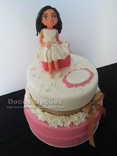 bolo 1ª comunhão decorado bragança