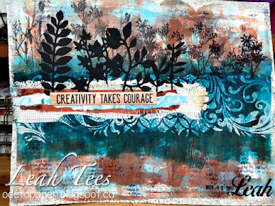 Leah Tees, Ode to Paper, Art Journal