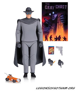 DC Collectibles Gray Ghost Figure Batman: The Animated Series