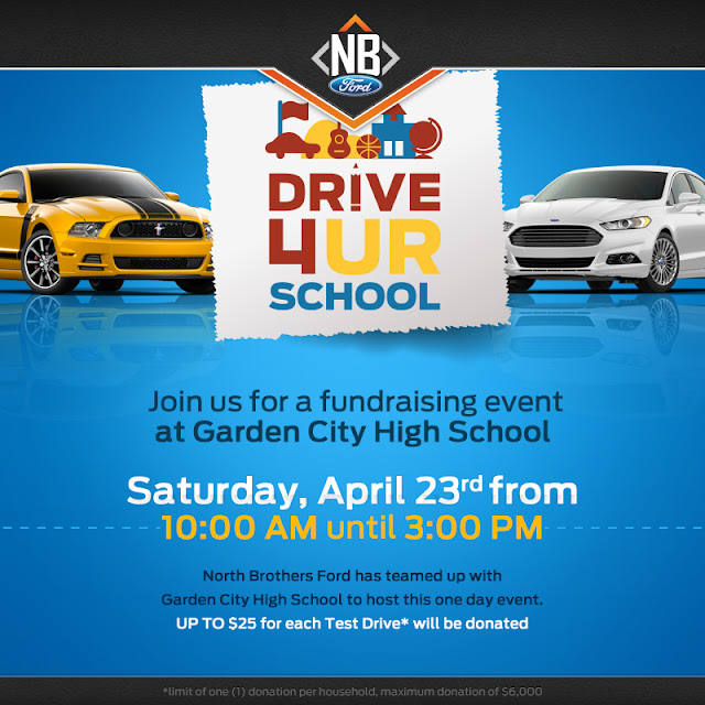 Drive 4 UR School with North Brothers Ford at Garden City High School
