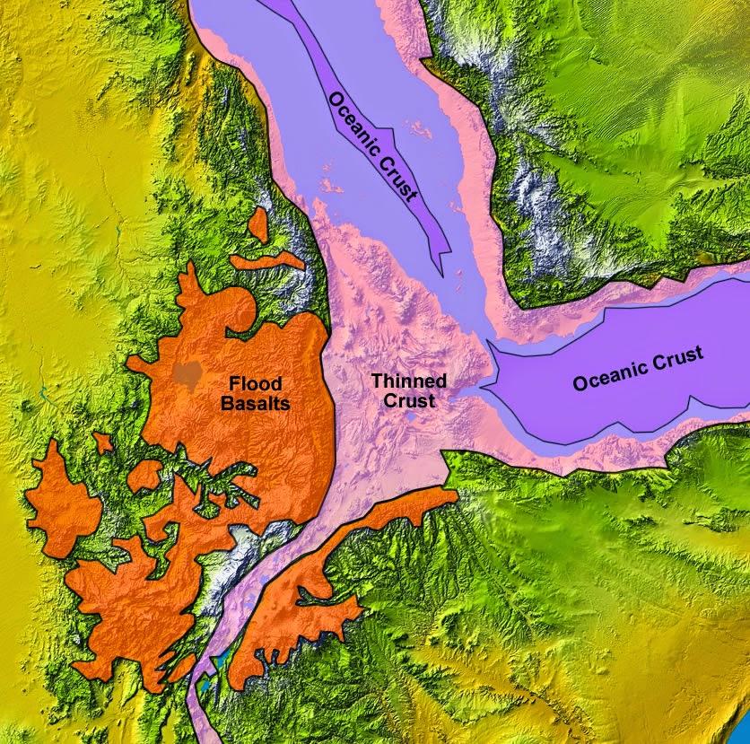 East Africa's Great Rift Valley: A Complex Rift System
