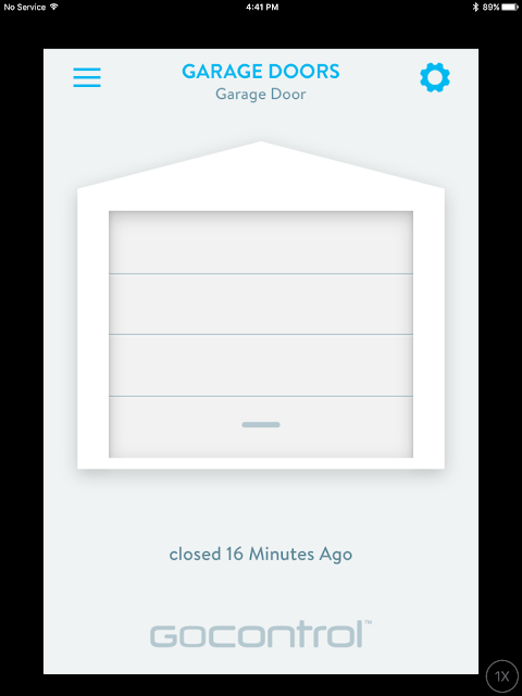 Wink Hub 2 Gocontrol Smart Garage Door Remote Control App on iOS iPad | Supratim Sanyal's Blog