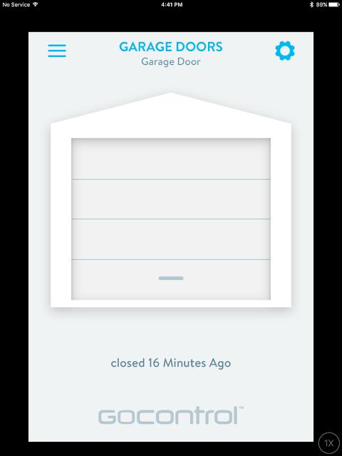Wink Hub 2 Gocontrol Smart Garage Door Remote Control App on iOS iPad | Supratim Sanyal's Blog