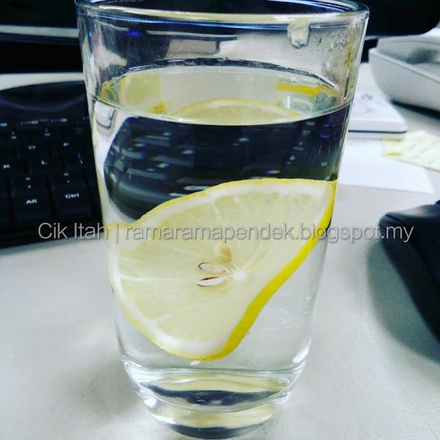 kuatkan antibody dengan air lemon