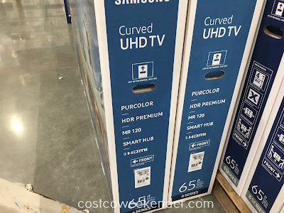 Samsung UN65KU649D 65 inch Curved 4K UHD LED LCD TV: great for any home enterainments system