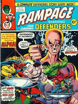 Rampage #15, Defenders vs Alpha