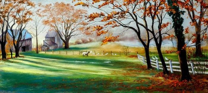 Современная американская художница. Donna Mitchell