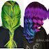 Spectacular hair colors by Kristi Waldrop, Louisiana, USA!
