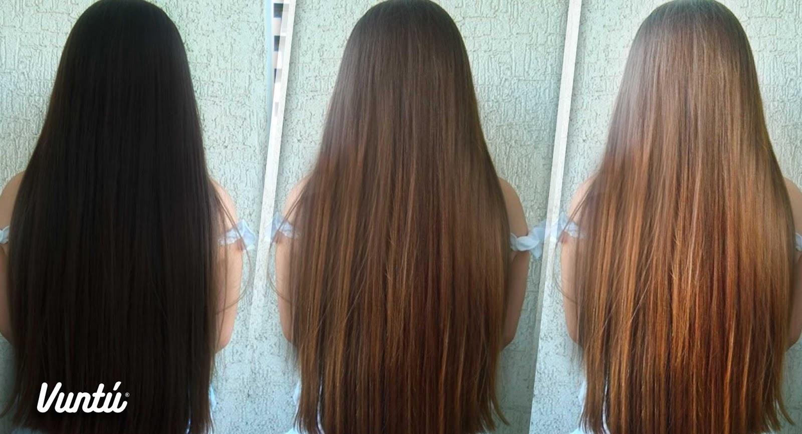 Como aclarar el pelo con color