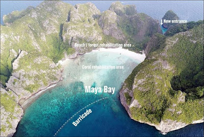 infomaniac.club:  THAILAND'S MAYA BAY TO REMAIN CLOSED FOR 2 YEARS