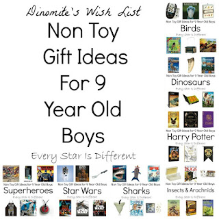 Non toy gift ideas for 9 year old boys.