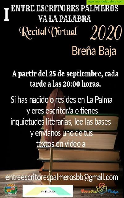 "BREÑA BAJA: Inscripciones ""I Entre Escritores Palmeros Va La Palabra"""