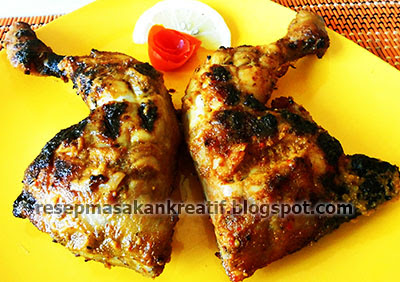 Cara Membuat Ayam Bakar Taliwang