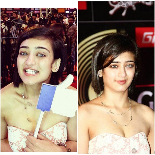 the gorgeous akshara haasan , at the red carpet of 5th gima awards 2015 , gima 2015 , 