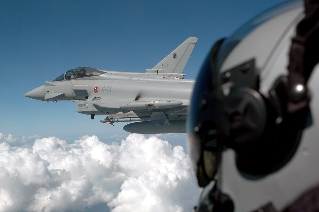 ITALIAN EUROFIGHTERS RECEIVE CERTIFICATION TO OPERATE IN