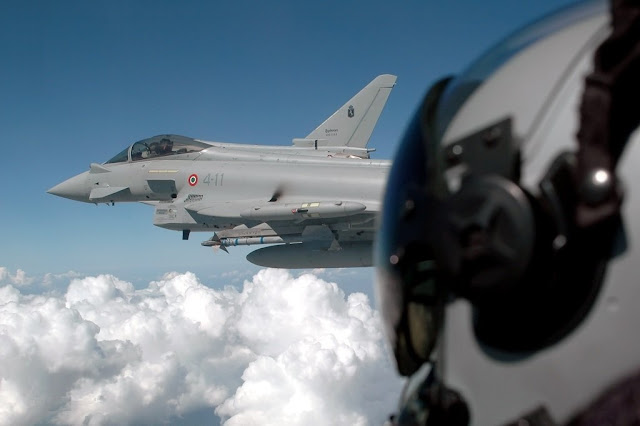 Italian Eurofighter NATO air policing Bulgaria
