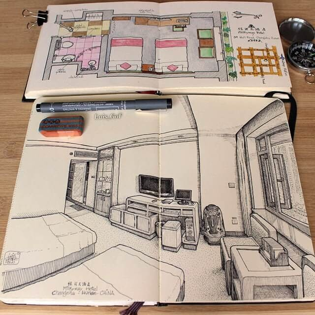 12-China-LG-Feliu-Interior-Design-Travel-Diary-Drawings-www-designstack-co
